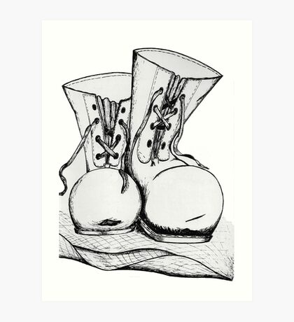 Boots and All Art Print