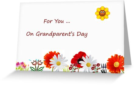 Grandparent's Day Card by Greeting Card Design by Ash