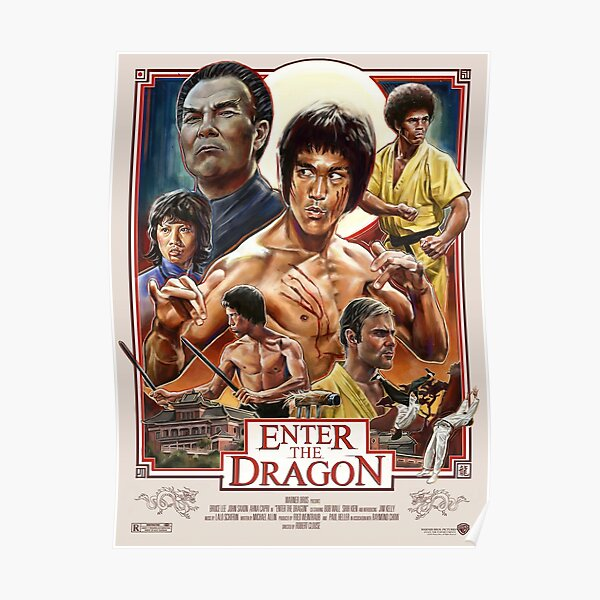 Enter the Dragon (HQ) Poster