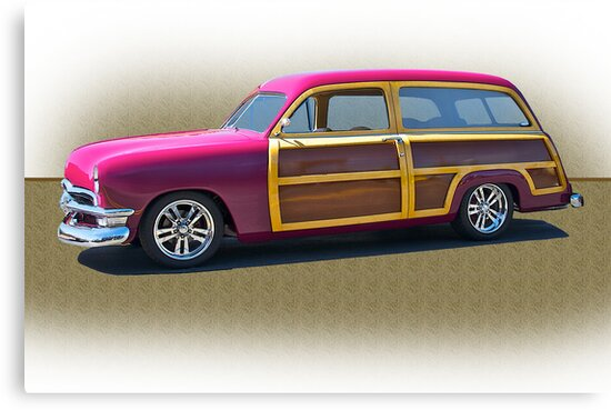 1950 Ford Woody Surf'n Wagon/Studio by DaveKoontz