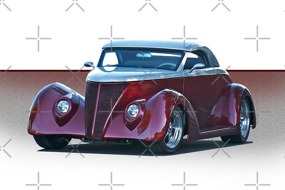 1937 Ford Roadster II by DaveKoontz