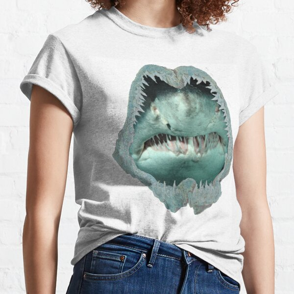 Jaw of the Raggie (Ragged tooth shark) Classic T-Shirt