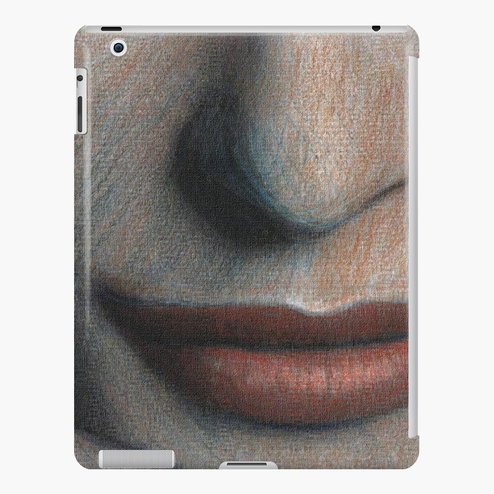 Mouth red iPad Case & Skin