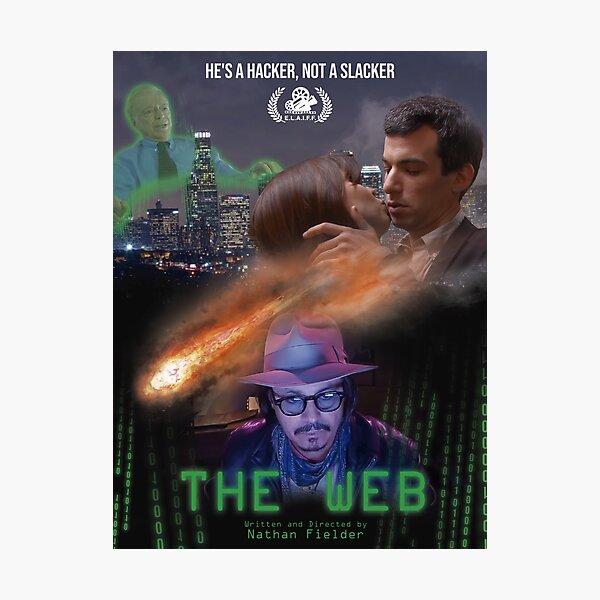 Nathan para ti The Web Poster Lámina fotográfica