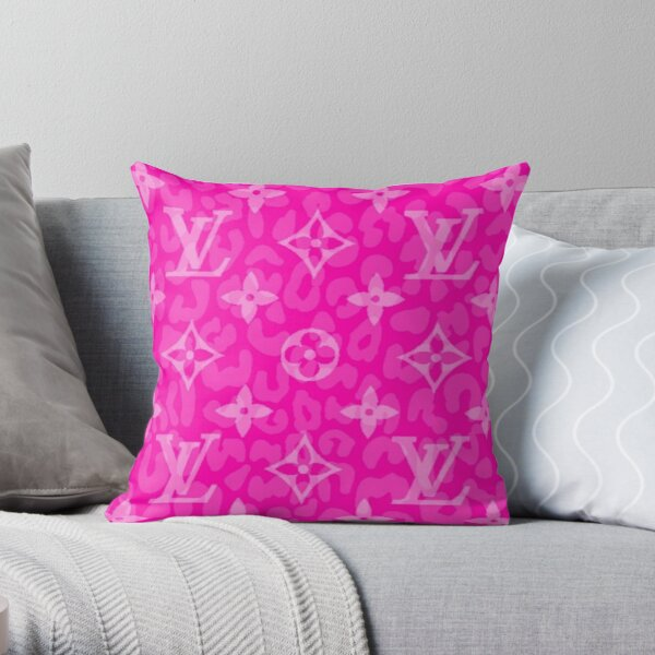 Pink Love Throw Pillow
