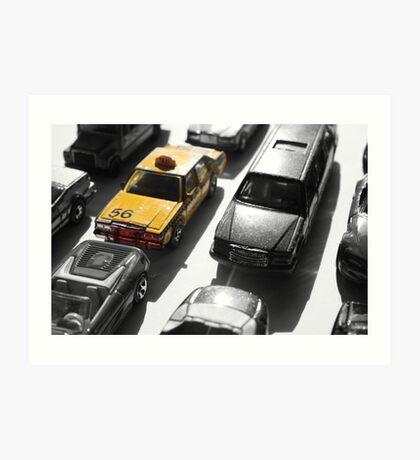 Traffic Art Print