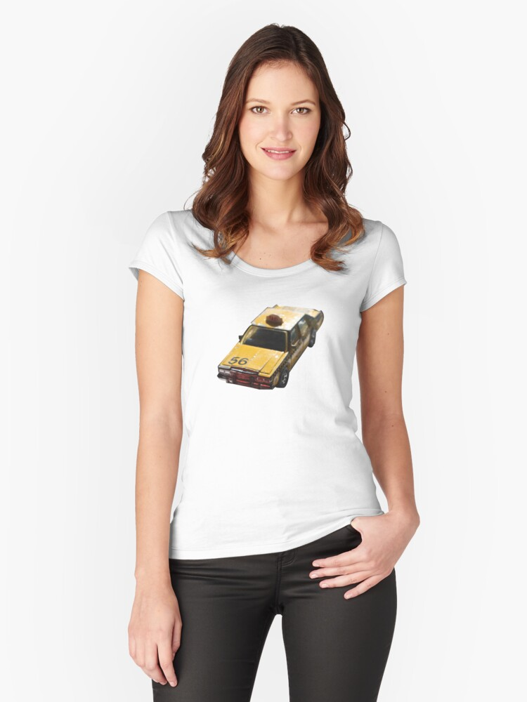 Traffic Women's Fitted Scoop T-Shirt Front