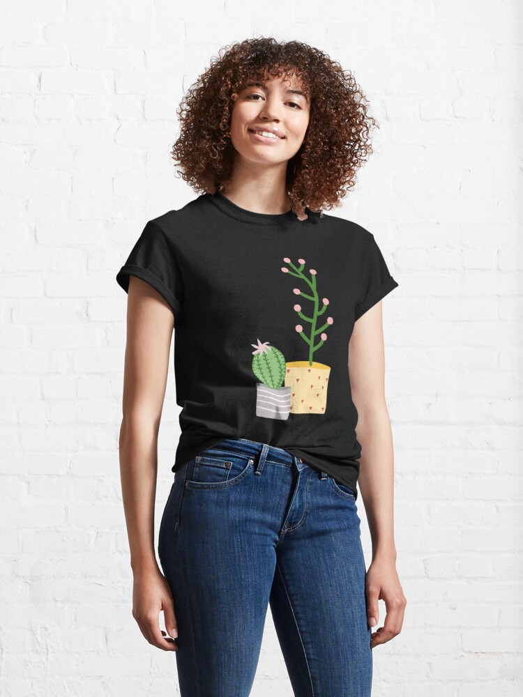 Alternate view of Plant life, cactus Classic T-Shirt