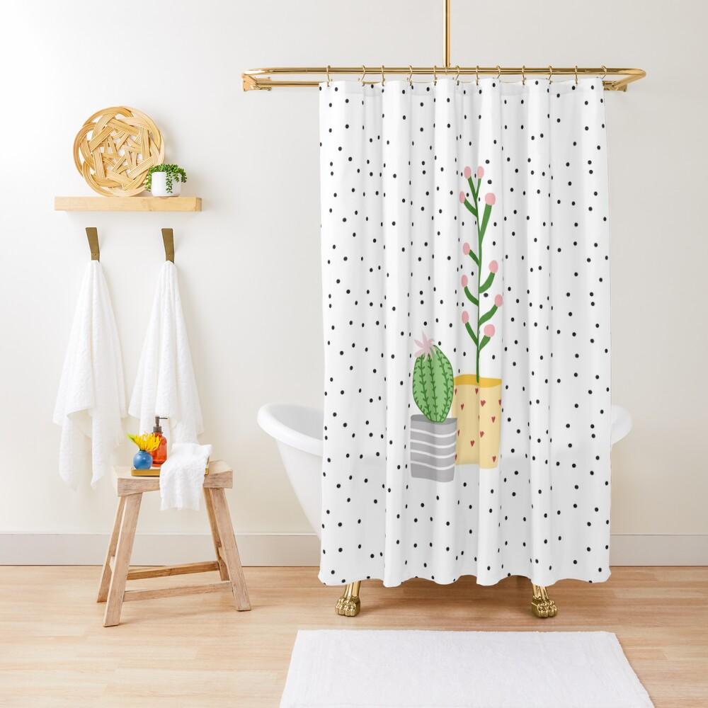 Plant life, cactus Shower Curtain