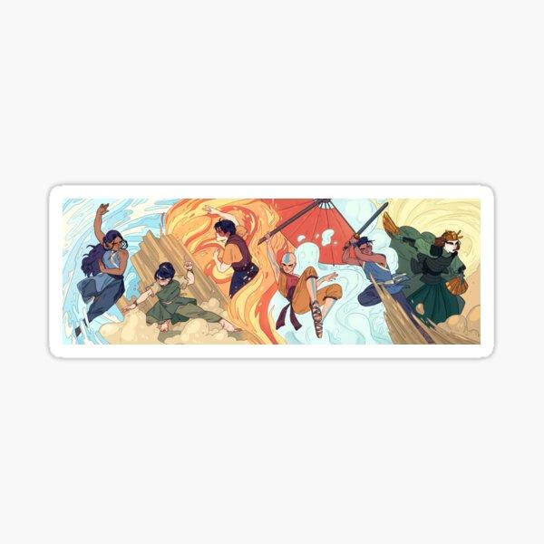 Main Gaang Avatar Sticker