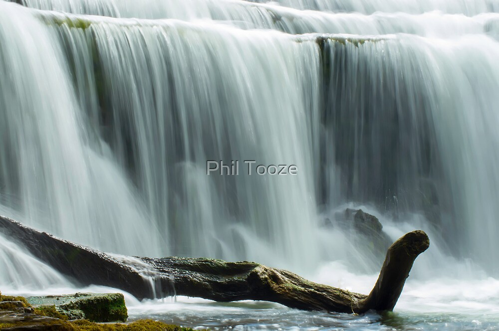 Weir on the River Wye Derbyshire 3 by riotphoto