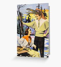 Paleface Paradise No.6 Greeting Card