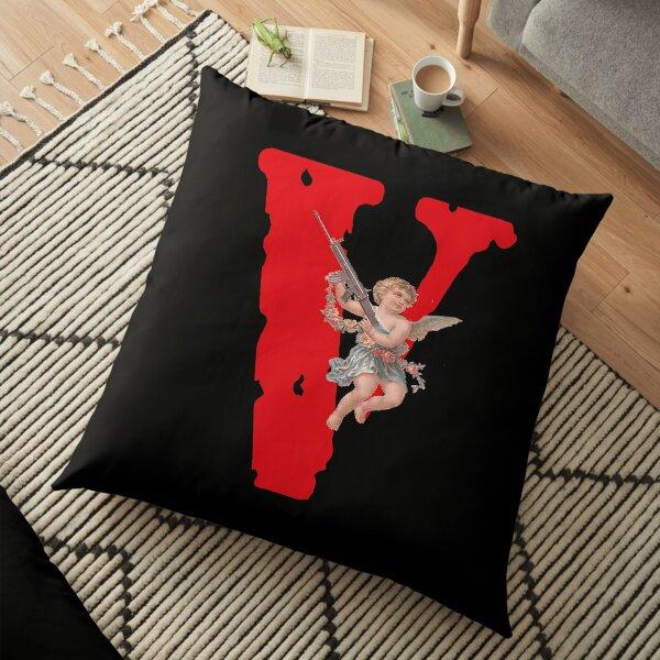Vlone Logo Baby Angel - Awge - streetwear - & amp; amp; quot; Vlone & amp; amp; quot; Floor Pillow