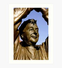 Brian Clough Art Print