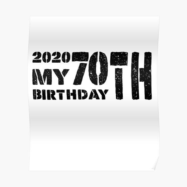 60th Birthday For Women 60th Birthday Gifts 60th Birthday Gift For Men 60th Birthday Wmy007 Poster By Fen3533 Redbubble