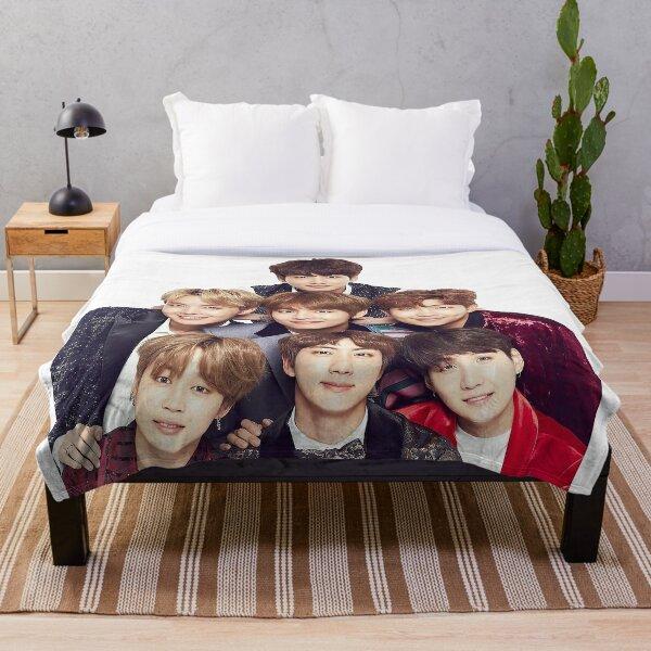 BTS Group  Throw Blanket