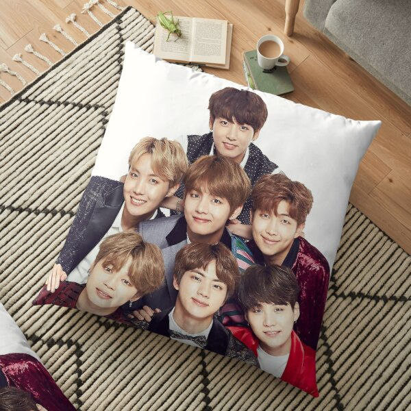 BTS Group  Floor Pillow