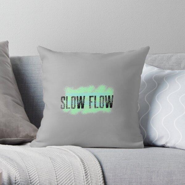 Yoga slow flow Throw Pillow