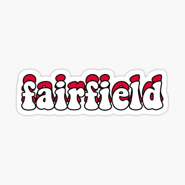 Fairfield University Stags Groovy Sticker