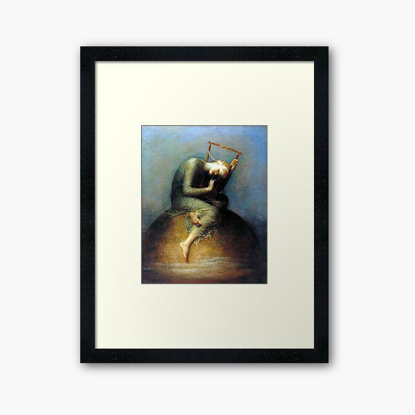 Hope - George Frederic Watts Framed Art Print