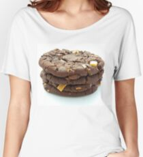 Chocolate Chip Cookies x4 Women's Relaxed Fit T-Shirt