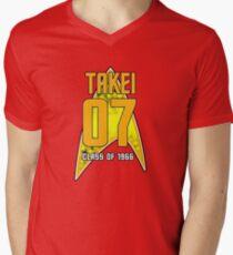 CLASS OF 1966: TAKEI Mens V-Neck T-Shirt