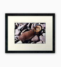 Beech Sole - Seaside Abstract Framed Print