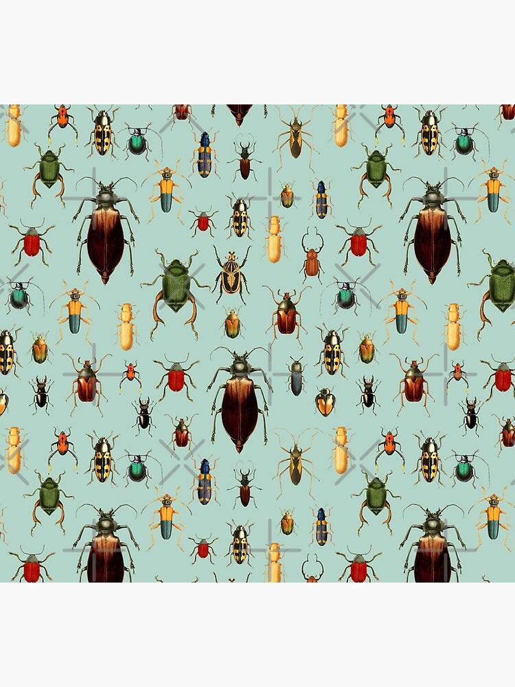 Entomologist's Wish - Beetles and Bugs by UtArt