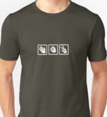 Rock, paper, scissor B T-Shirt