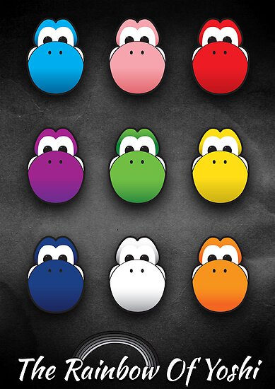The Rainbow Of Yoshi by TomMcgrath