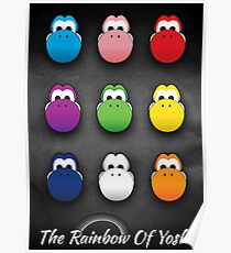 The Rainbow Of Yoshi Poster