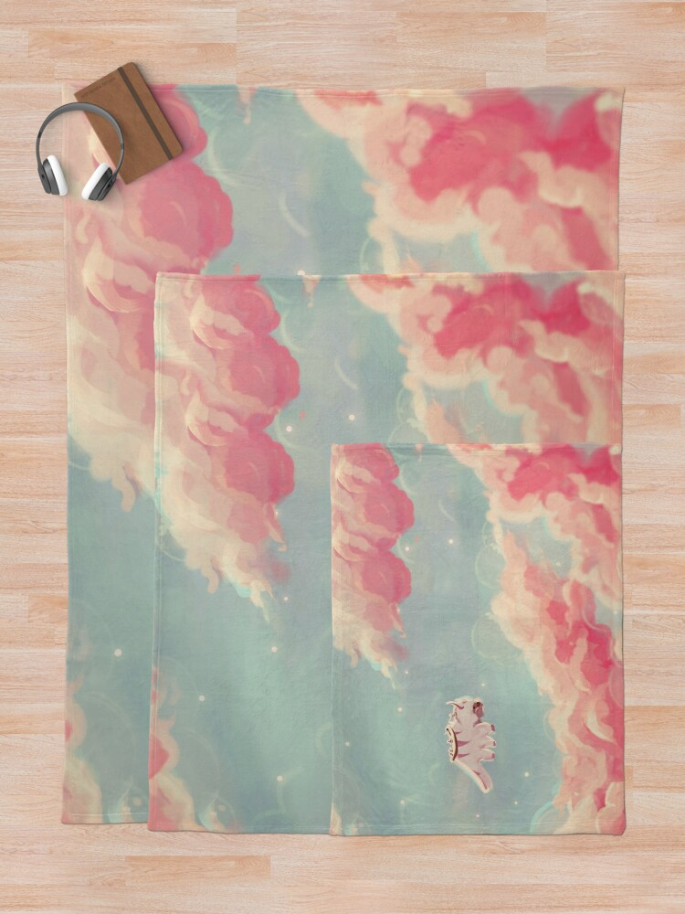 Alternate view of dreamy appa poster v1 Throw Blanket