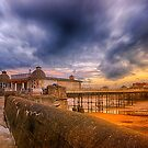 A storm brewing over Cromer Pier by Mark Bunning