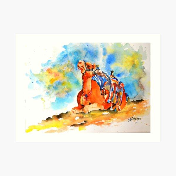 Desert comfort Art Print