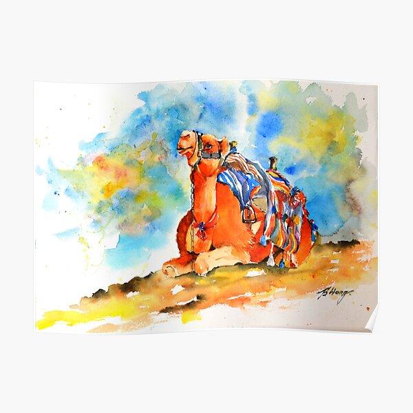Desert comfort Poster