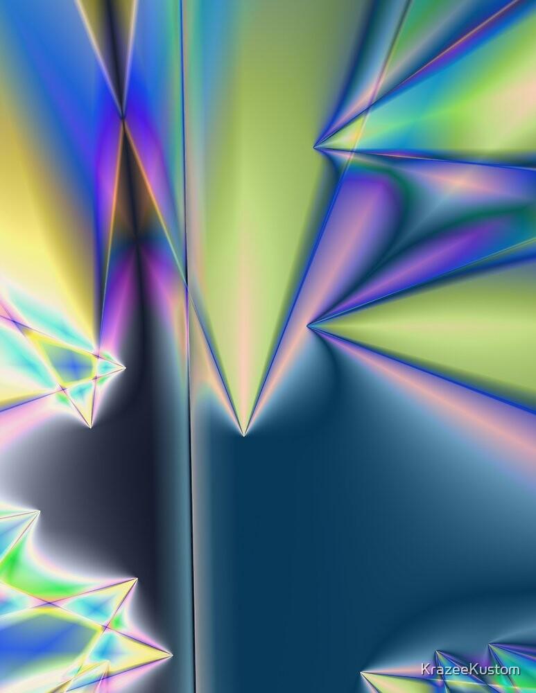 Neon Pyramids by KrazeeKustom