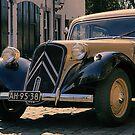 An old Citroen Traction Avant by Mark Bunning