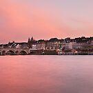 Sunset over maestricht by Mark Bunning
