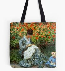 Madame Monet 3-D Redux Tote Bag