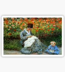 Madame Monet 3-D Redux Sticker