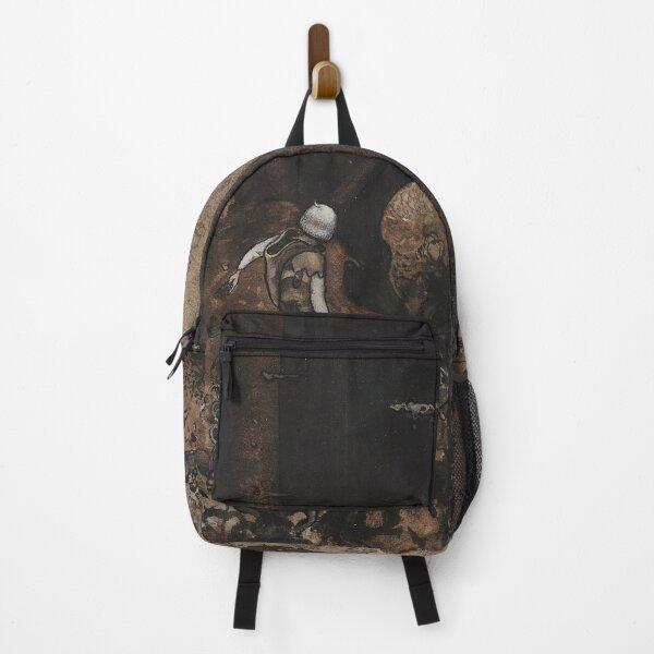 Dark Forest Vintage John Bauer fantasy artwork Backpack