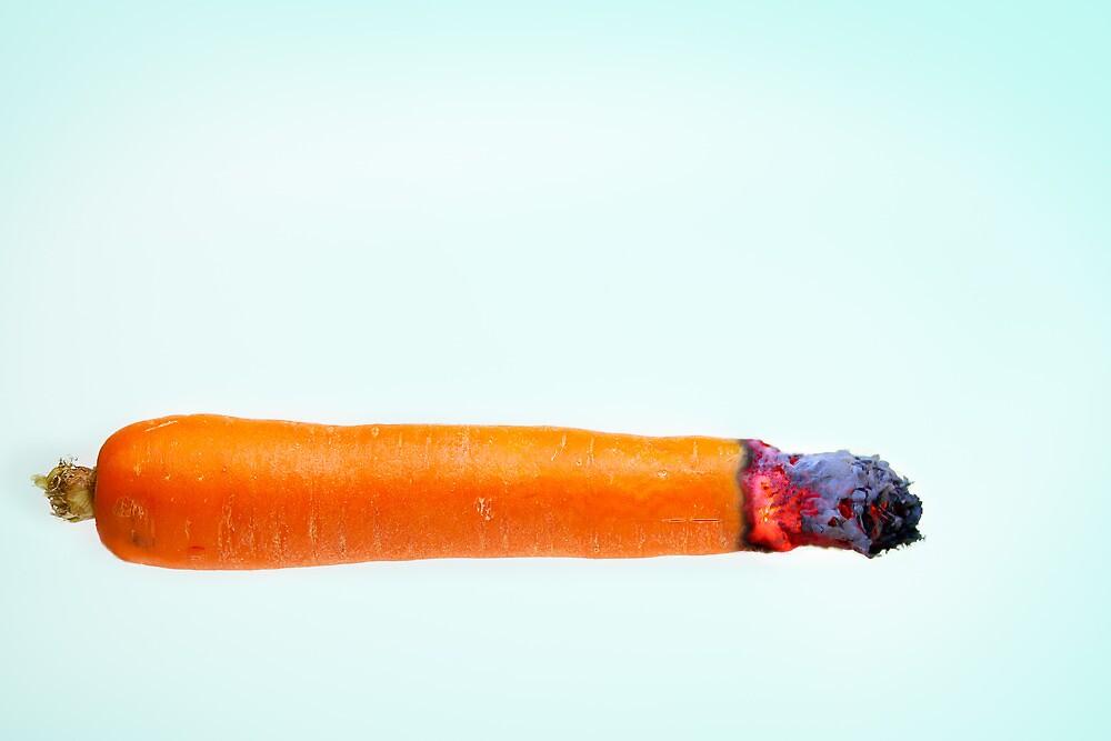 Smoking Carrot by lynampics