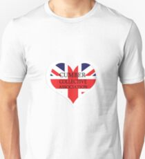 Benedict Cumberbatch Collective heart Unisex T-Shirt
