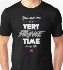 Very Strange Time (Fight Club) - Quote Series T-Shirt