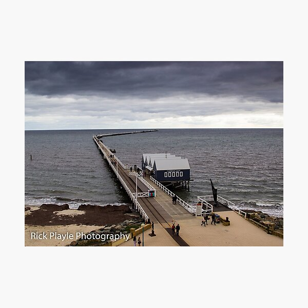 Busselton Jetty In Winter Photographic Print