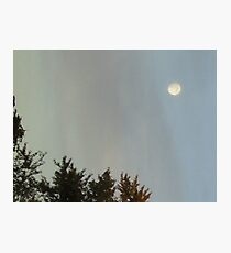 Watch The Bright Moon Photographic Print