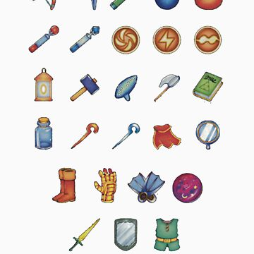Zelda Inventory 2 by TeamJawline