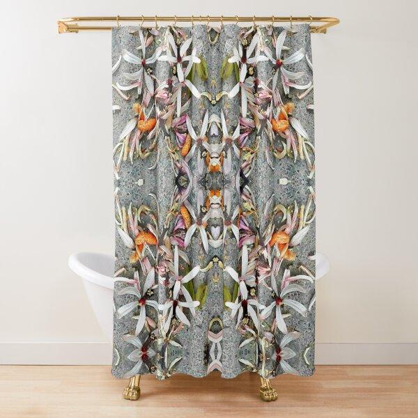 Margosa Blossom Shower Curtain