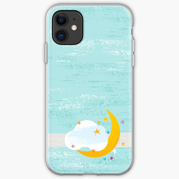 Moon in a Cloud iPhone Soft Case