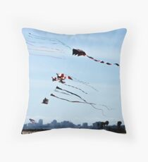 High as a Kite Throw Pillow